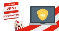 Die fünf besten VPNs für Popcorn Time