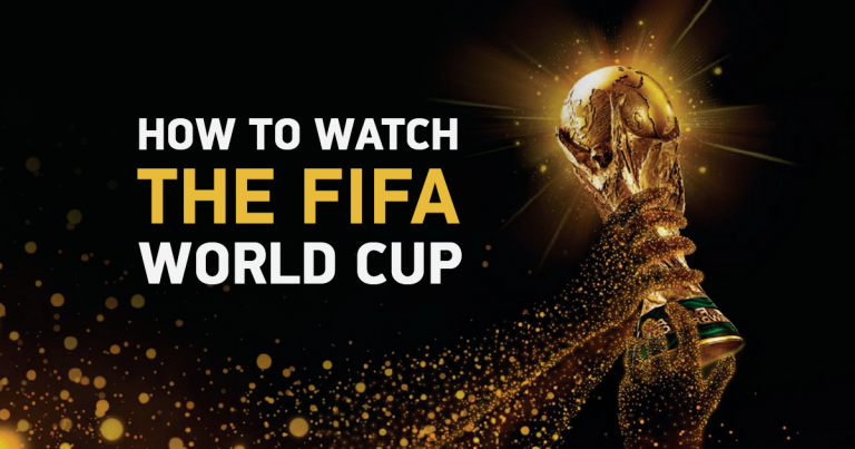 Three Ways to Stream the 2018 FIFA World Cup