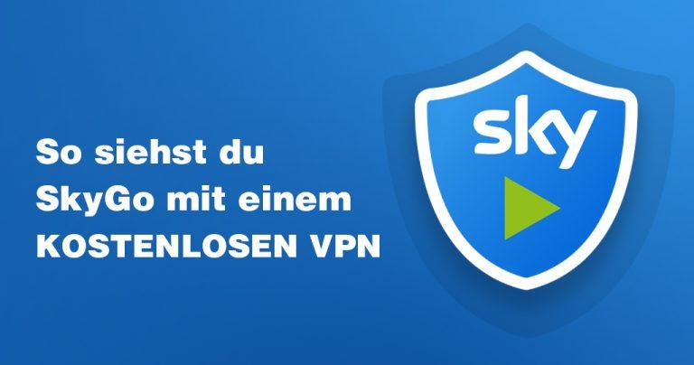 SkyGo mit kostenlosem VPN