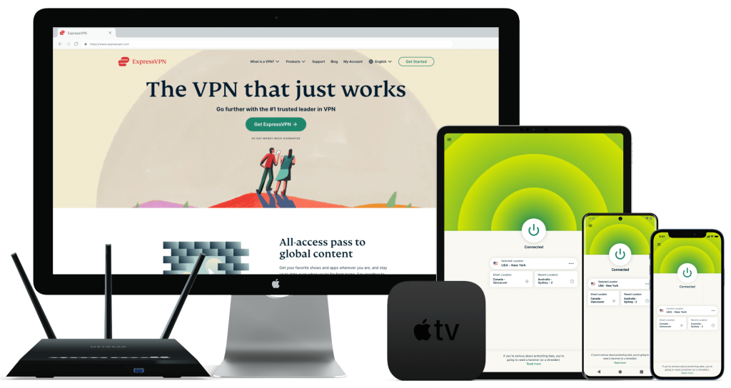 ExpressVPN Devices Image